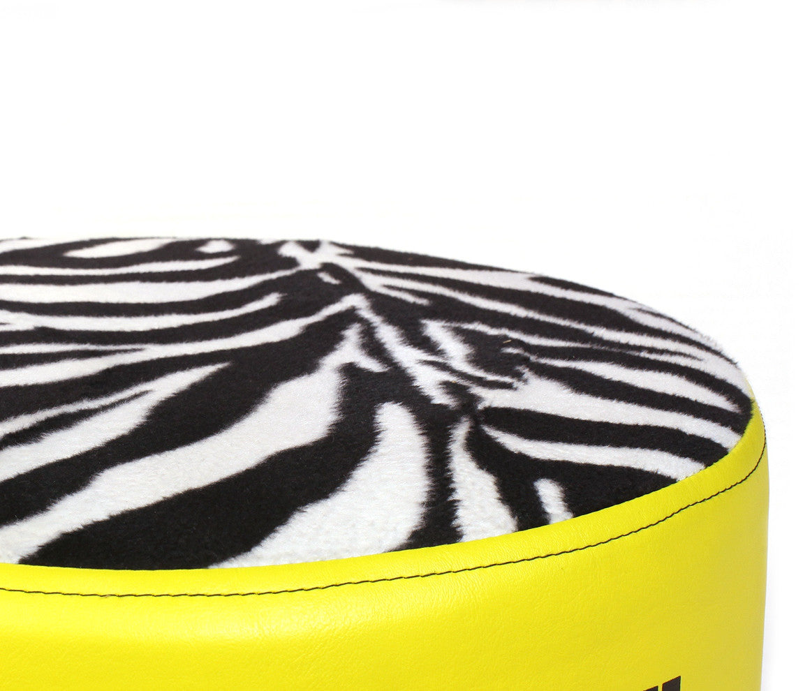 Pork Pie Zebra Drum Throne