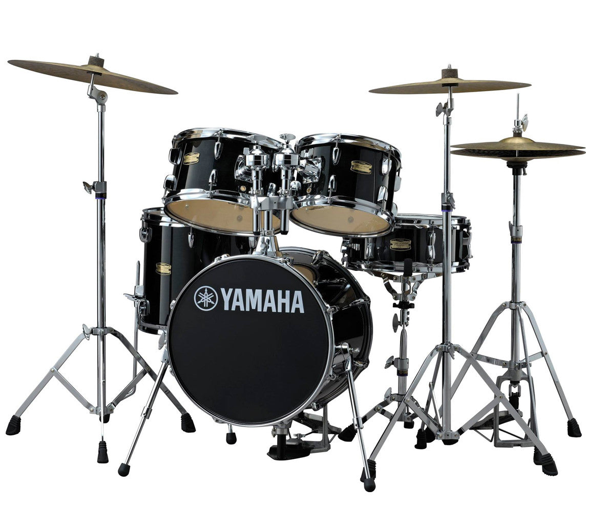 Yamaha Manu Katche 5-Piece Junior Raven Black Drum Kit