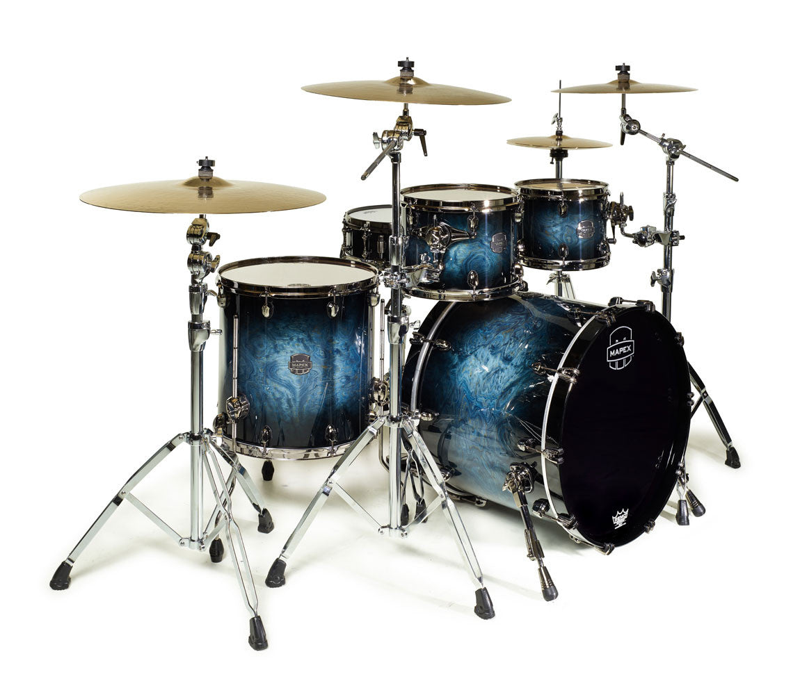 Mapex Saturn V Fusion 4-Piece Drum Kit deep water