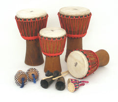 Bucara Djembe Drumming Kit  -  for 10 players