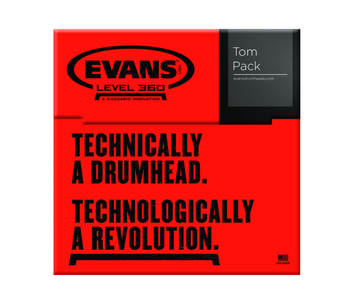 Evans Hydraulic Glass Tom Pack
