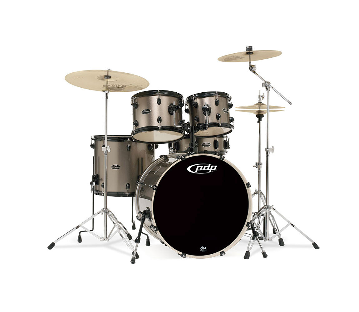 DW PDP Mainstage Series 5-piece Shell Pack in Bronze Metallic
