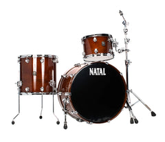 Natal 'The Originals' US Rock Walnut Shell 3 Piece in Natural Walnut