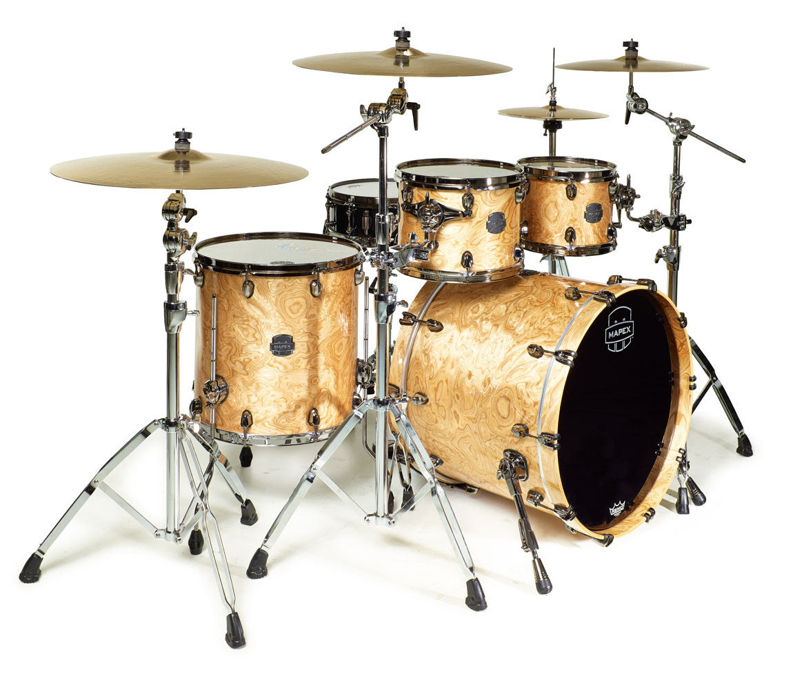 Mapex Saturn V Fusion 4-Piece Drum Kit natural maple