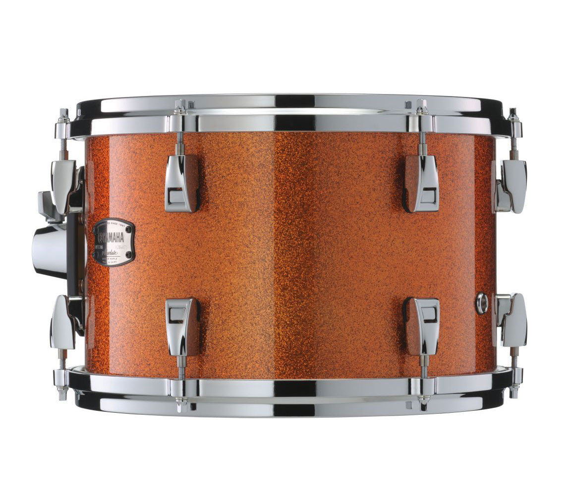 YAMAHA MAPLE HYBRID 5 PIECE ORANGE SPARKLE