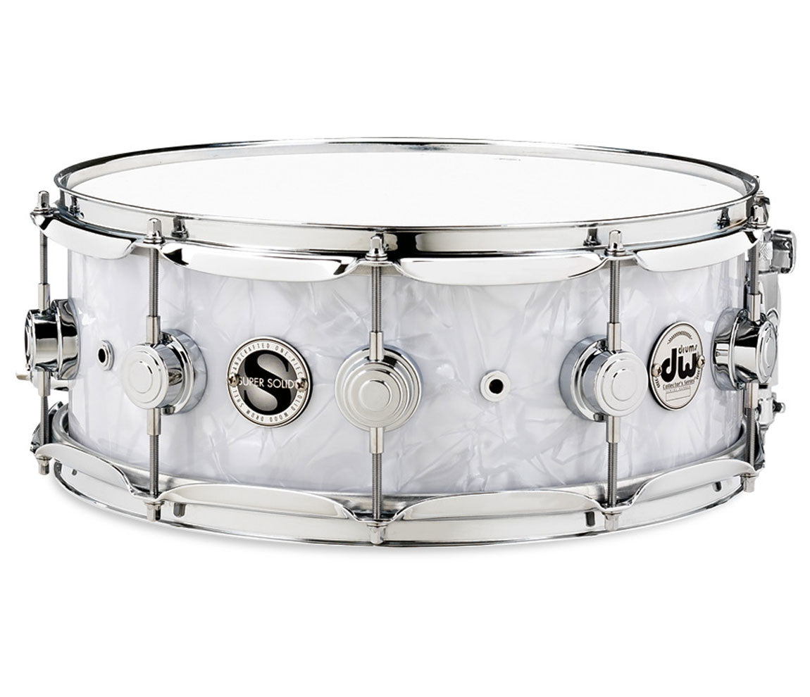 DW Super Solid Collector's Series Snare Drum in Classic Marine.