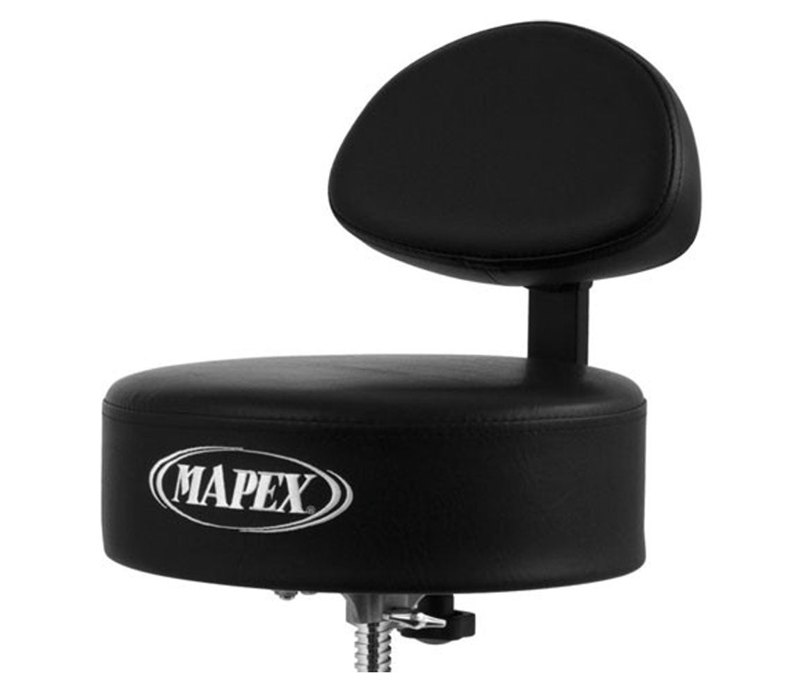 Mapex T770 Round Seat Back Rest Drum Throne Seat