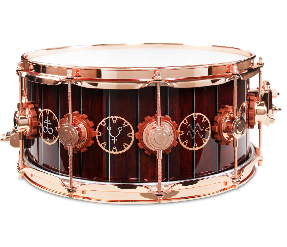dw neil peart 39 s time machine specialty snare drum shop. Black Bedroom Furniture Sets. Home Design Ideas