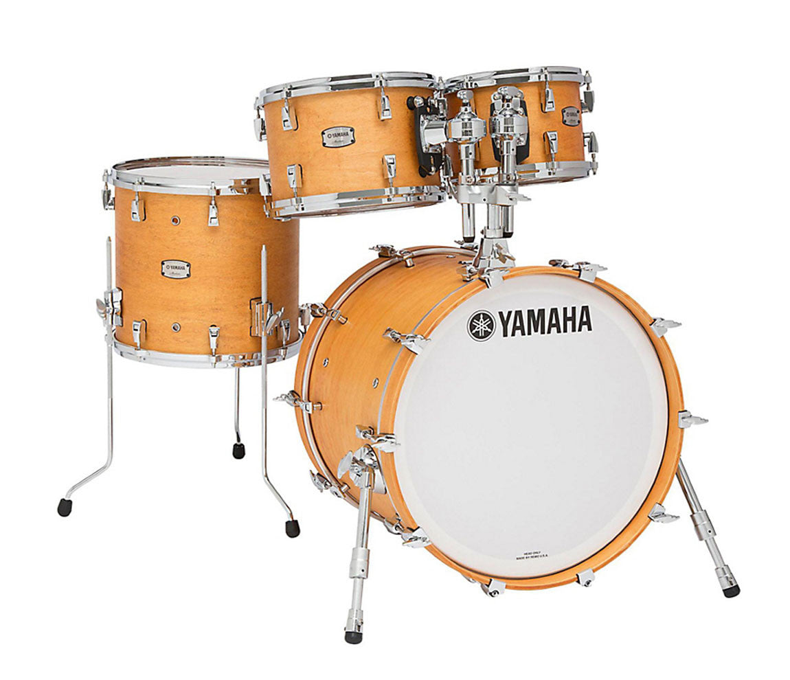 yamaha absolute hybrid maple 4 piece shell pack in vintage natural drum shop. Black Bedroom Furniture Sets. Home Design Ideas