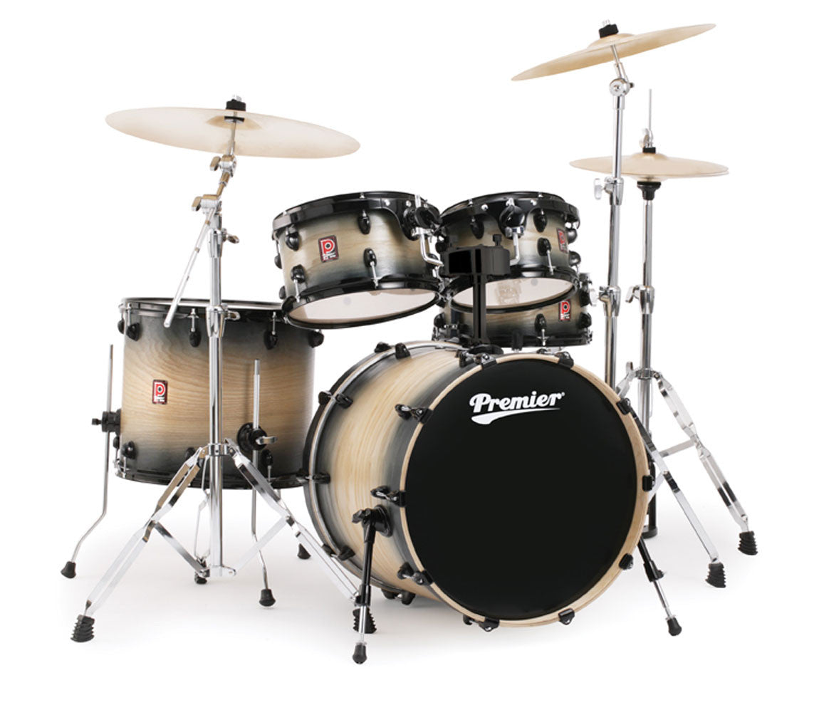 Premier XPK Series Modern Rock 22 Drum Kit in Natural Burst Satin