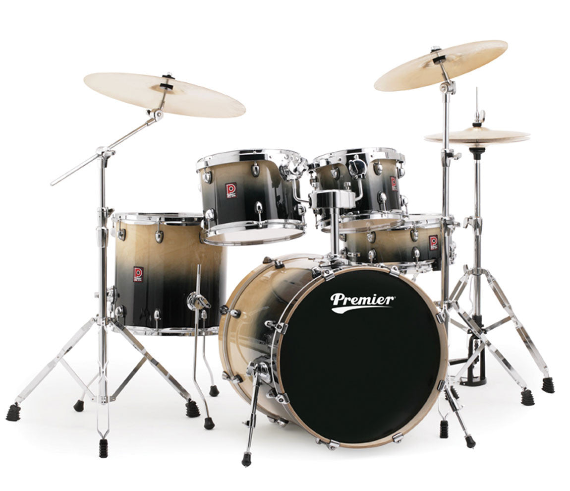 Premier XPK Series Modern Rock 22 Drum Kit in Natural Fade