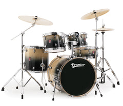 Premier XPK Series Stage 20 Drum Kit in Natural Fade