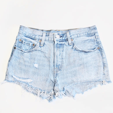 Levi Denim Shorts - 501