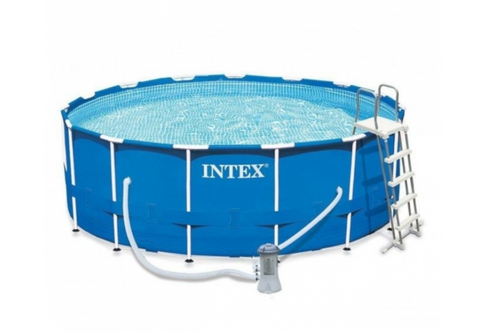 Prism Frame Above Ground Pool Round 457х122cm Intex 28242