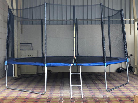 Trampoline with enclosure: 10-16ft
