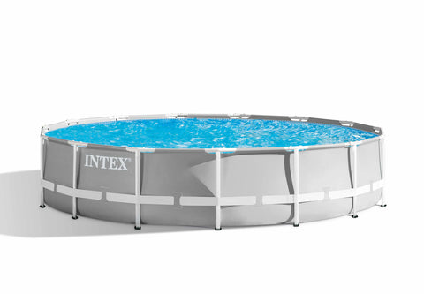 Prism Frame Above Ground Pool Round 457x107cm Intex 26724