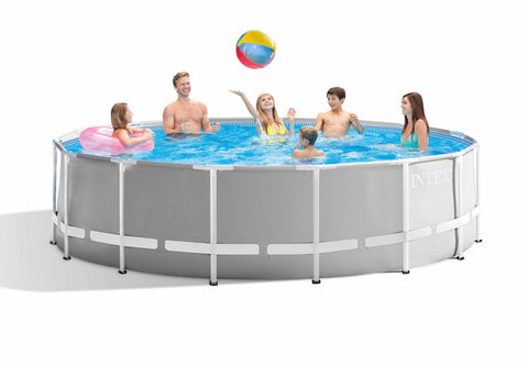 Prism Frame Above Ground Pool Round 457x122cm Intex 26726