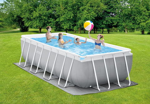 Prism Frame Rectangular Pool 4.88m x 2.44m x 1.07m Intex 26792