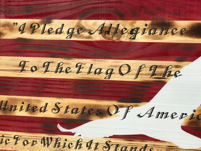 I Pledge Allegiance Concealed/Plaque