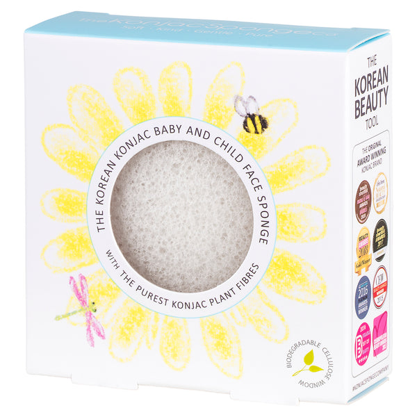 Premium Konjac Baby and Child Face Sponge