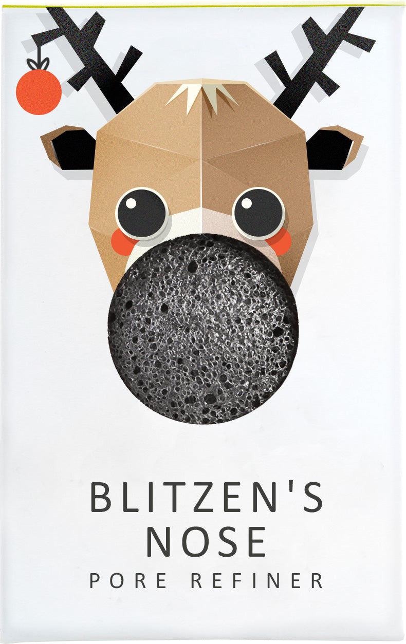 Konjac Mini Pore Refiner Blitzen With Bamboo Charcoal