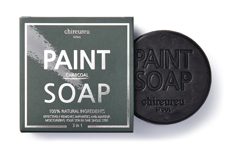 Chireureu Charcoal Deep Cleansing Paint Soap