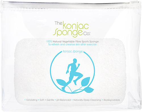 100% Pure Konjac Sports Sponge – Running Man