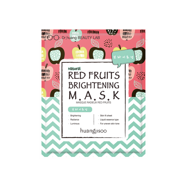 Huangjisoo Red Fruit Brightening Face Mask