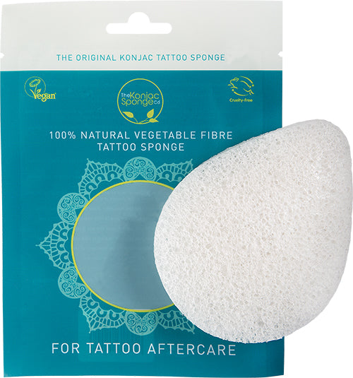 The Konjac Tattoo Sponge