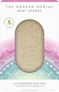 The Mandala Aloe Vera Body Sponge