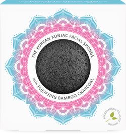 The Mandala Charcoal Face Sponge
