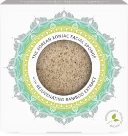 The Mandala Bamboo Extract Face Sponge