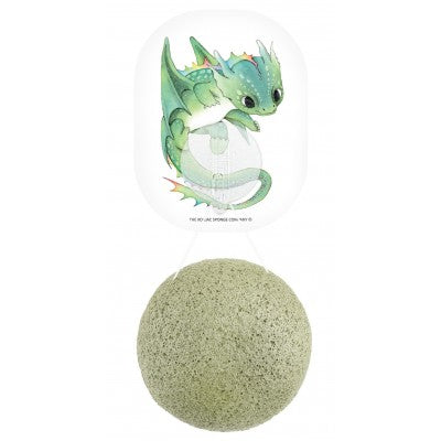 Mythical Dragon Konjac Face Sponge & Hook French Green Clay