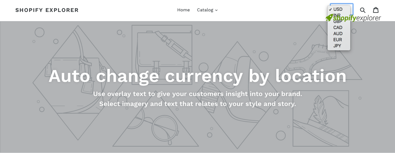 How to auto change currency based on location in Shopify