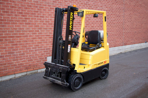 Hyster S30XM LPG Forklift with Smooth Tires