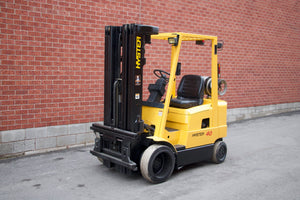 Hyster S40XM with Quad-Mast