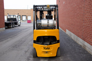 Yale GLC050VX with 4-way hydraulic valve