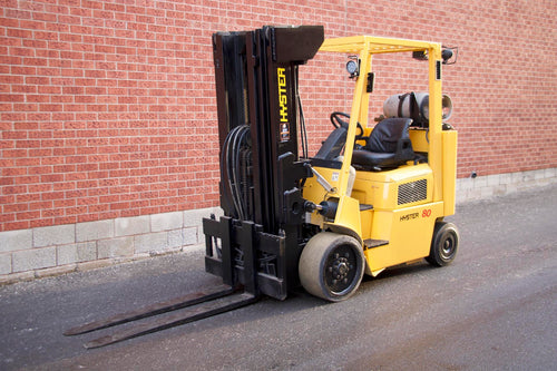 Hyster S80XMBCS LPG Forklift with 8000 lbs Capacity