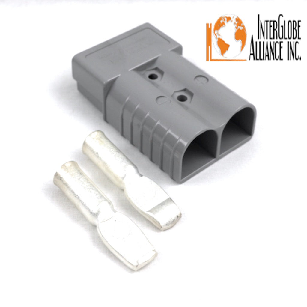 6340G2 Anderson Original SBX 350 Battery Connector Gray 3//0 AWG