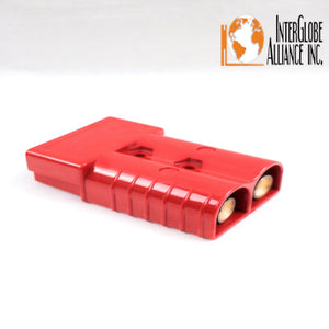 Forklift Connector Adapter Plug with 2 Ports Battery Power Plug red A0180-01 car Part SB 350A 600V