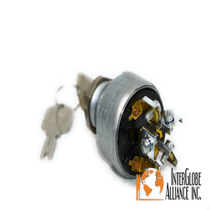 Hyster Pollak Forklift Ignition Switch #HY4292483 Original Ignition Switch For Forklift