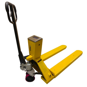 "Manual Pallet Jack Single Wheels 48""x21"" with Weighing Scale"