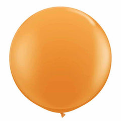 Orange kæmpe ballon