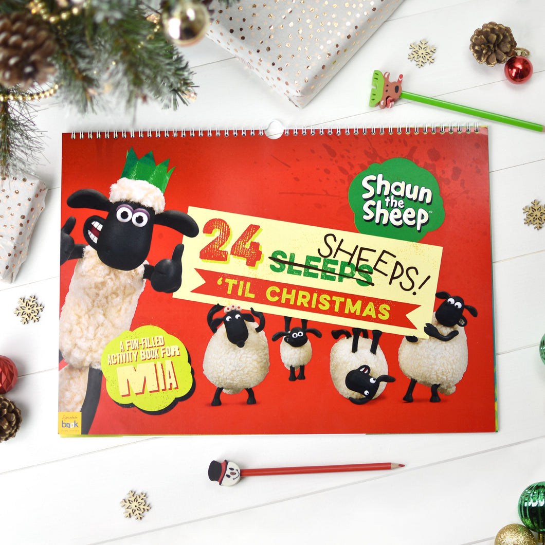 Personalised Shaun the Sheep