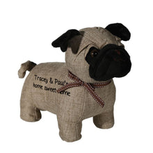 Load image into Gallery viewer, Personalised Pug Door Stop