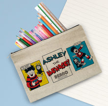 Load image into Gallery viewer, Personalised Beano Classic Comic Strip Water Pistol Pencil Case