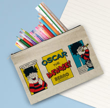 Load image into Gallery viewer, Personalised Beano Classic Comic Strip Problem Solved Pencil Case
