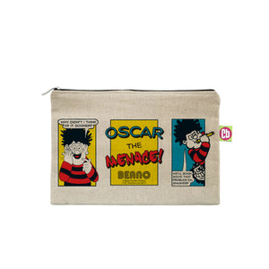 Personalised Beano Classic Comic Strip Problem Solved Pencil Case
