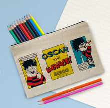 Load image into Gallery viewer, Personalised Beano Classic Prob Solve Pencil Case & Pencils
