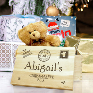 Personalised Special Delivery Christmas Eve Box